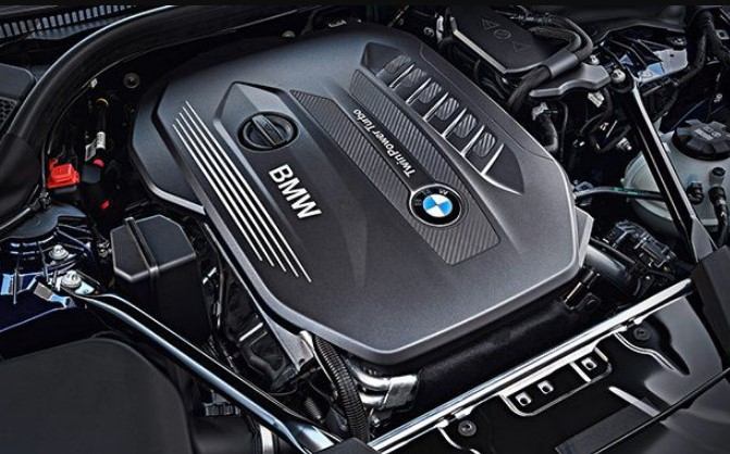 2021 BMW 5 Series Engine