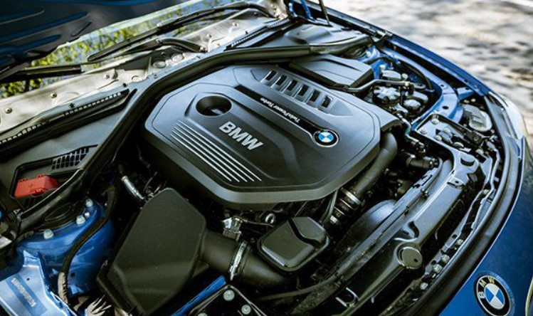 2021 BMW 440i Engine
